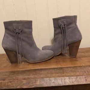 """Anthropologie """"Howsty"""" suede booties"""